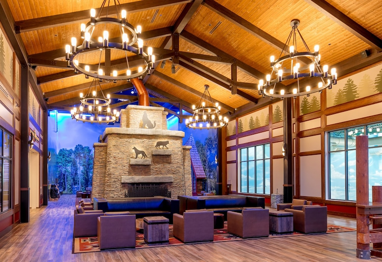 Great Wolf Lodge Illinois, Gerni, Vestibiulio laukiamasis