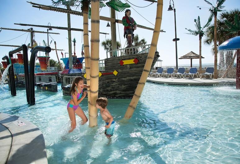 Captain's Quarters Resort, Myrtle Beach, Piscina per bambini