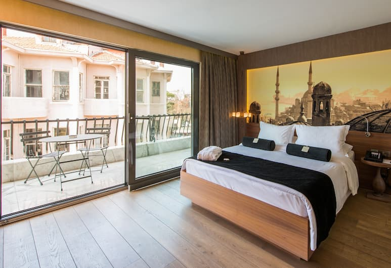 Boutique Saint Sophia, Istanbul, Deluxe Room (Grand), Guest Room