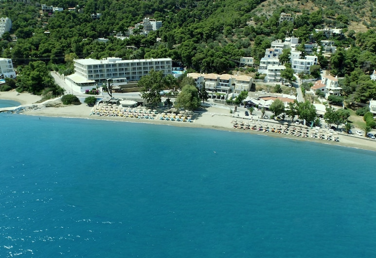 New Aegli Resort Hotel, Poros, Aerial View