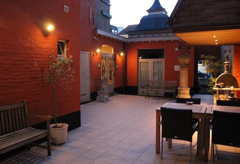 Canalview Hotel Ter Reien, Bruges, Terraço/pátio