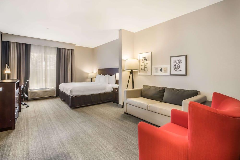 套房, 1 張特大雙人床和 1 張沙發床, 非吸煙房 - 客房