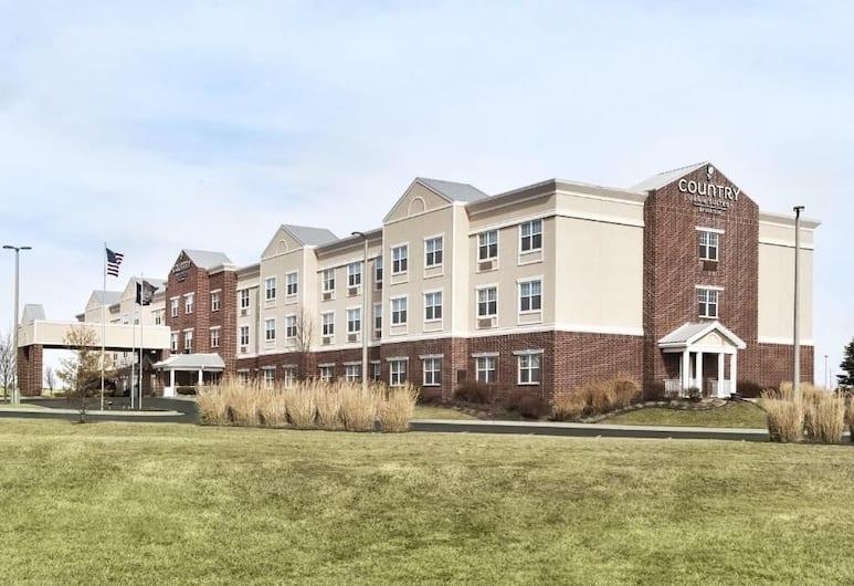 Country Inn & Suites by Radisson, Kansas City at Village West, KS, Kansas City, Pokój, 2 łóżka queen, dla niepalących, Widok z pokoju
