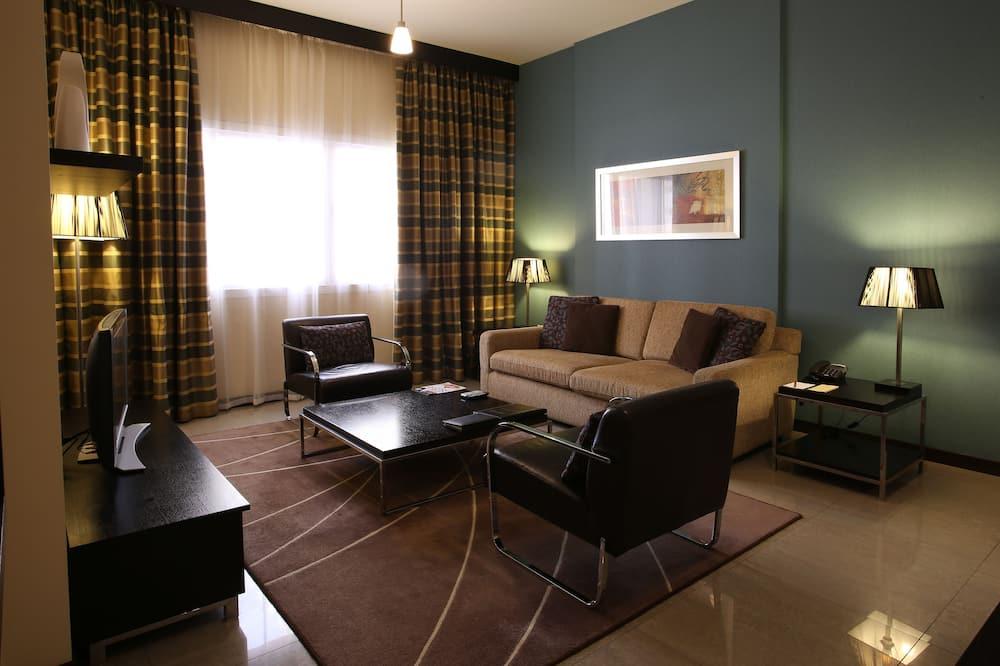 Deluxe Suite 1 Bedroom Apartment - Sala de estar