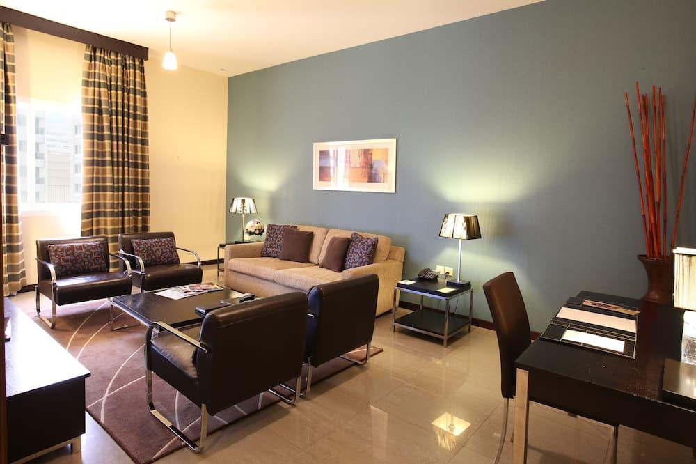 Executive Suite 1 Bedroom Apartment - Sala de estar