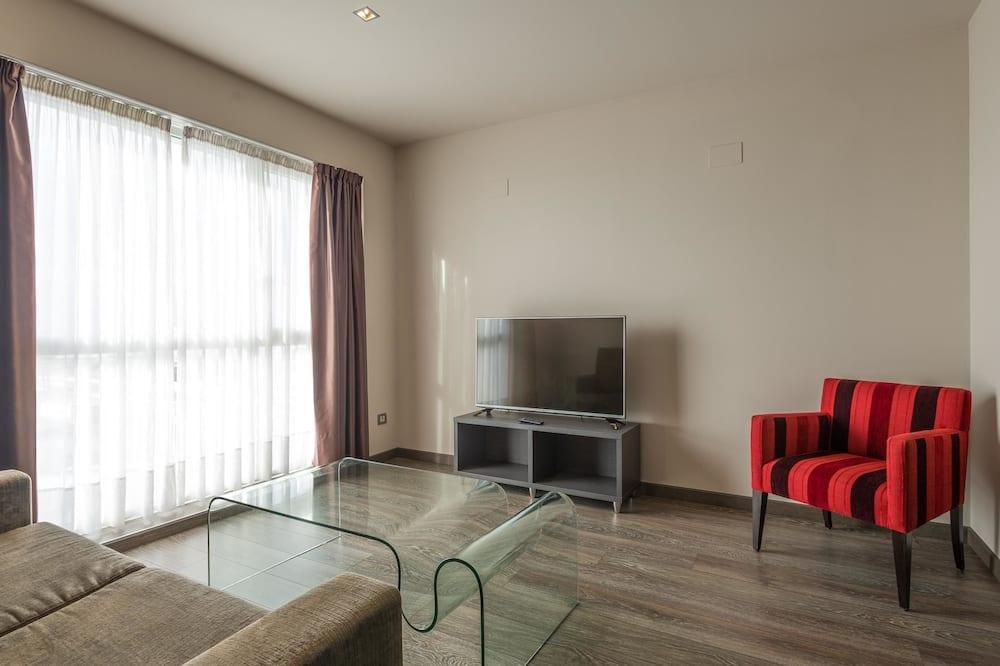 Junior-Zweibettzimmer - Wohnbereich