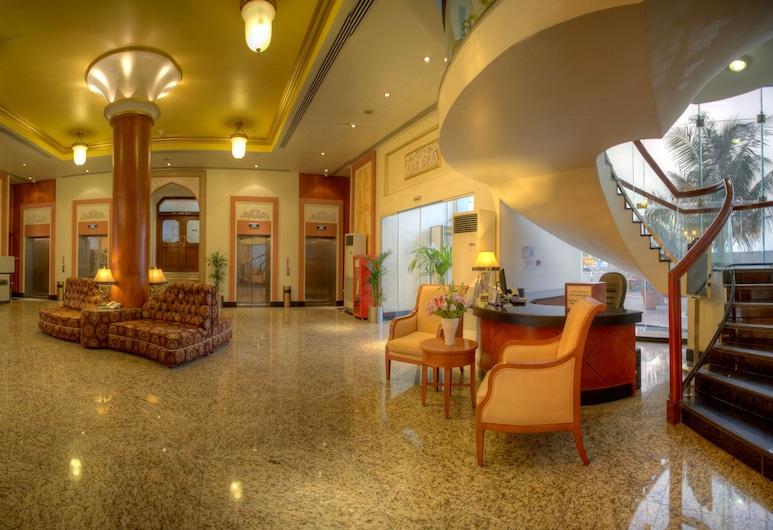 Al Diar Capital Hotel, Abu Dhabi, Inngangsparti