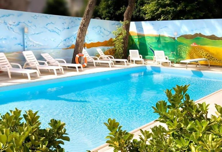 Hotel Regina Elena 57 & Oro Bianco Spa, Riminis, Lauko baseinas