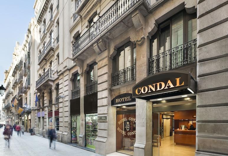 Hotel Condal, Barcelona, Hotellfasad