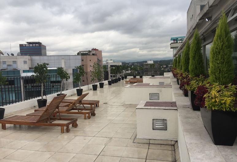 St Isidro Corporate Housing, Mexico City, Taras/patio