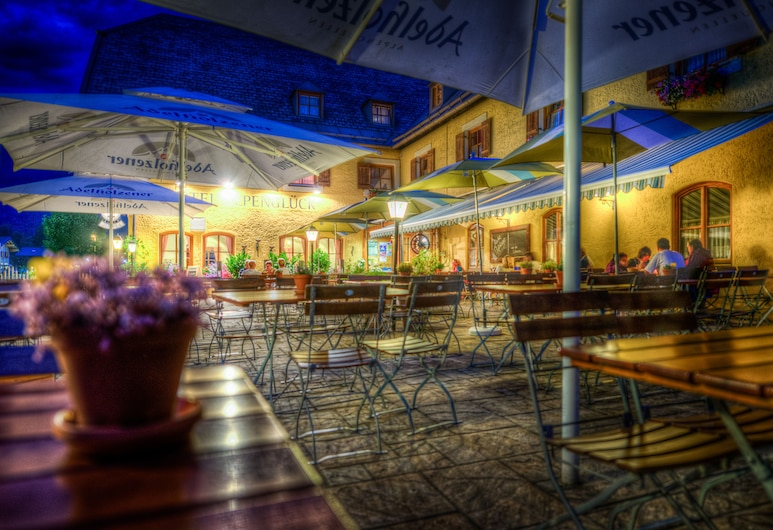 Hotel & Restaurant Alpenglück, Schneizlreuth, Terraza o patio