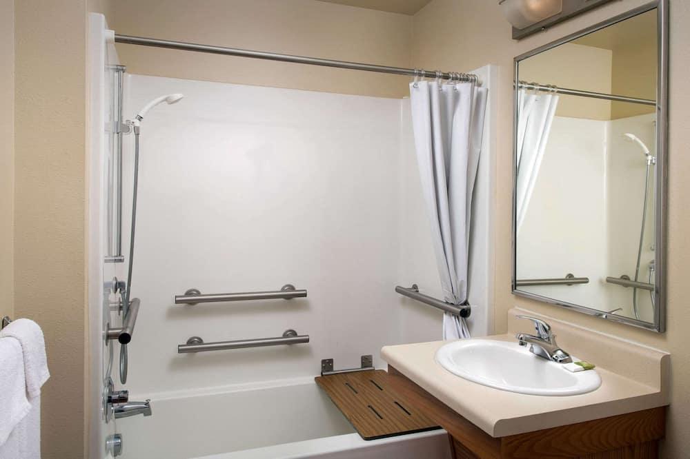 客房, 1 張標準雙人床, 無障礙, 非吸煙房 - 浴室