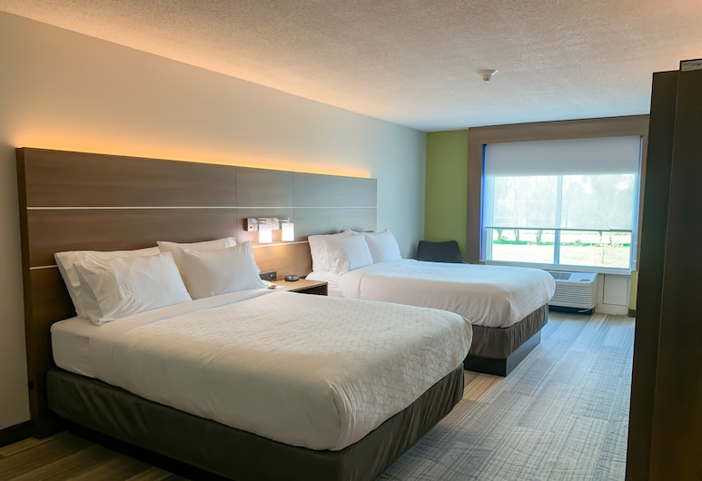 Holiday Inn Express & Suites Lexington Dtwn Area-Keenland, Лексінґтон, Номер, 2 ліжка «квін-сайз», для некурців, Номер