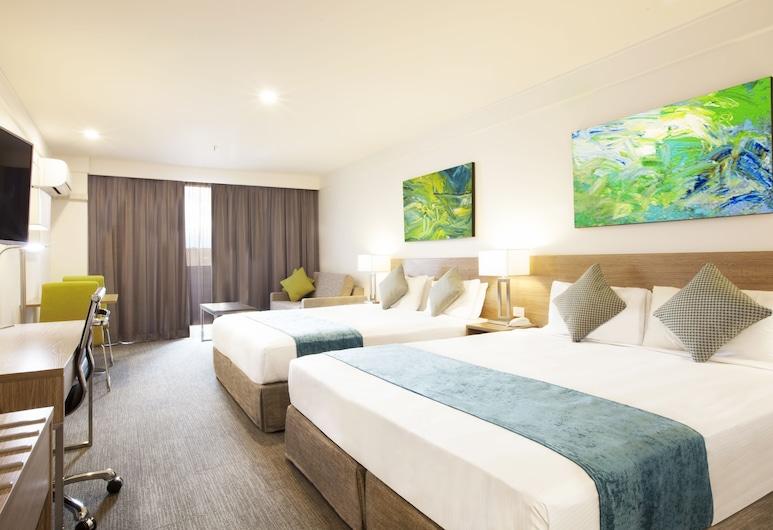 Metro Aspire Hotel, Sydney, Ultimo, Habitación Deluxe, balcón, Habitación