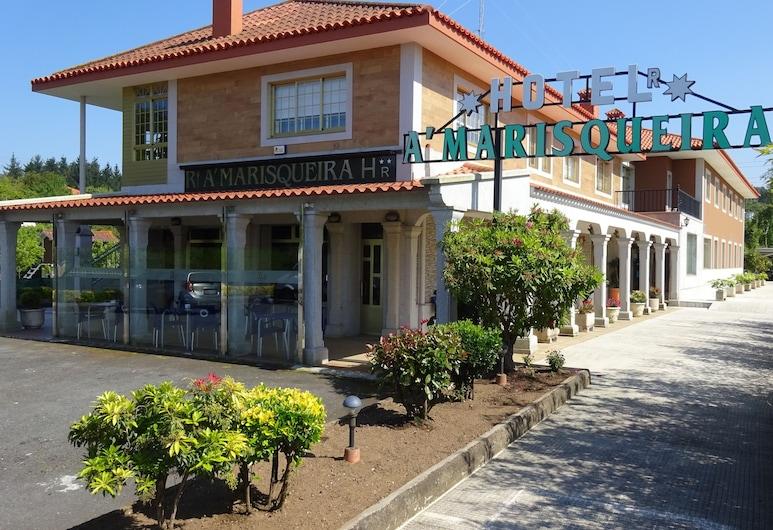 Hotel A'Marisqueira, Oleiros, ทางเข้าโรงแรม