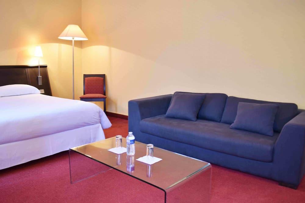 Doppelzimmer zur Einzelnutzung - Wohnbereich