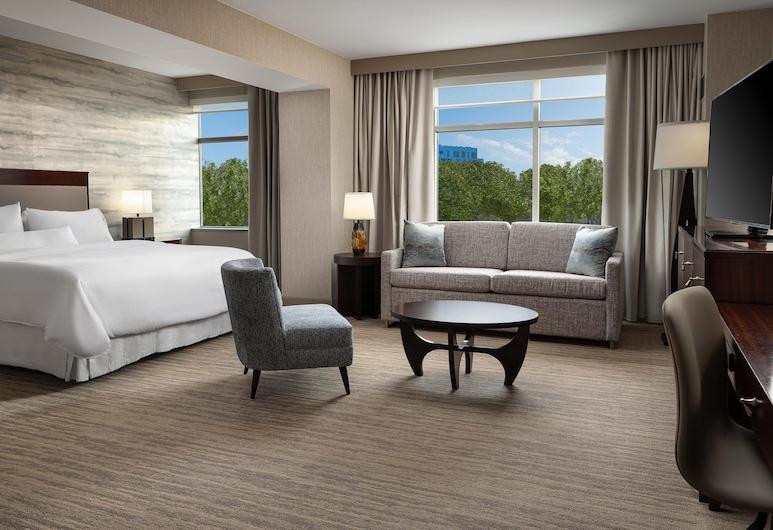 萊斯頓高地威斯汀飯店, 雷斯頓, 普通套房, 1 張特大雙人床和 1 張沙發床, 客房