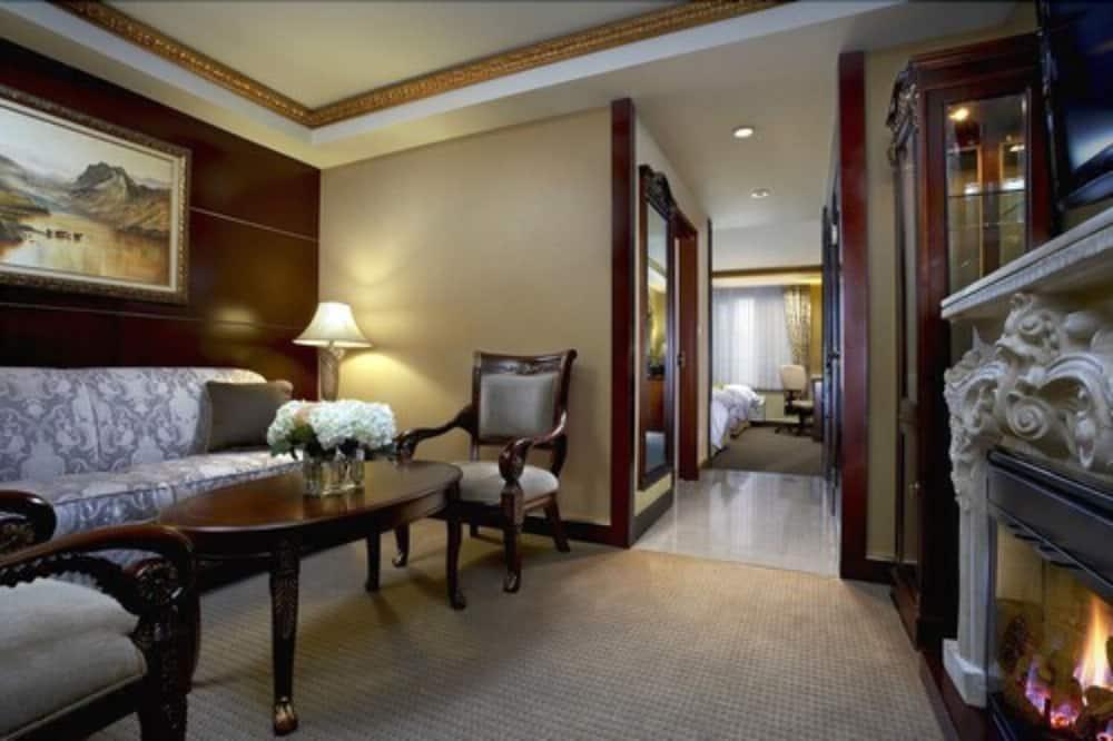Suite, 1 king size krevet i kauč na rasklapanje, za nepušače (1 Bedroom) - Dnevni boravak