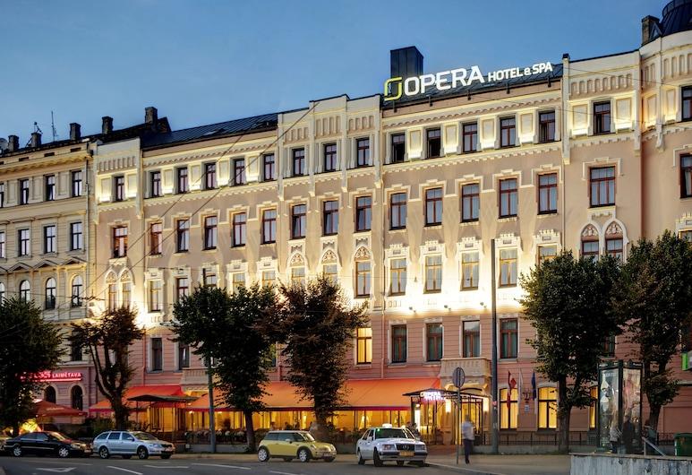 Opera Hotel, Riga, Terrasse/veranda
