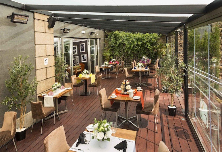 The Savoy Jersey, St-Helier, Terrasse/Patio