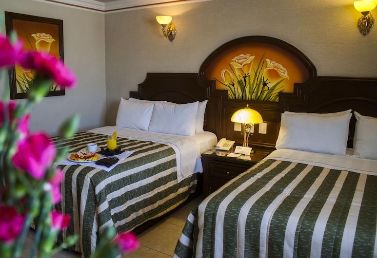 Hotel Casino Plaza, Гвадалахара, Представительский двухместный номер с 1 двуспальной кроватью, для некурящих, Вид из номера