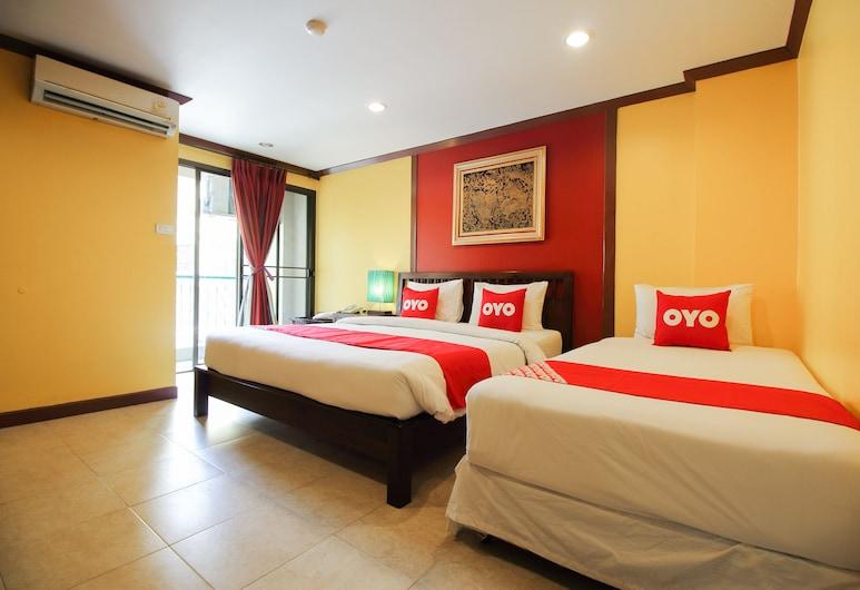 OYO 434 ブーンシリ プレイス ホテル, バンコク, ベーシック トリプルルーム, 部屋