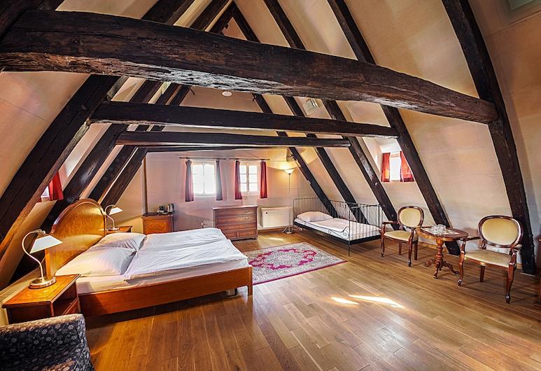 Hotel & Residence U Tri Bubnu, Praag, Suite, Kamer