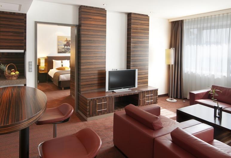Holiday Inn ALMATY, Almatõ, Sviit, 1 ülilai voodi, suitsetamine lubatud (Feature), Tuba