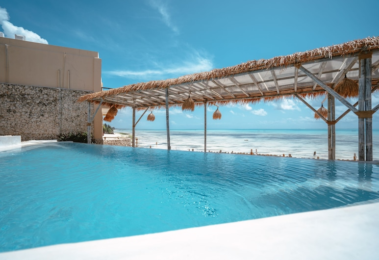 Coral Rock Hotel & Restaurant, Jambiani, Piscina Transbordante