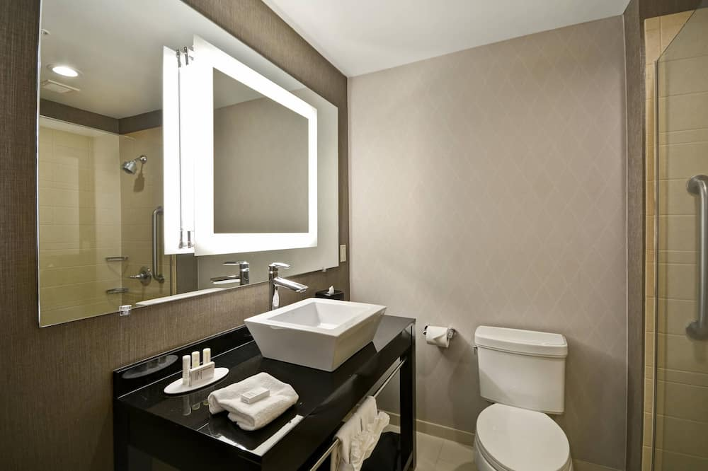 Suite, 2 queensize bedden, niet-roken - Badkamer