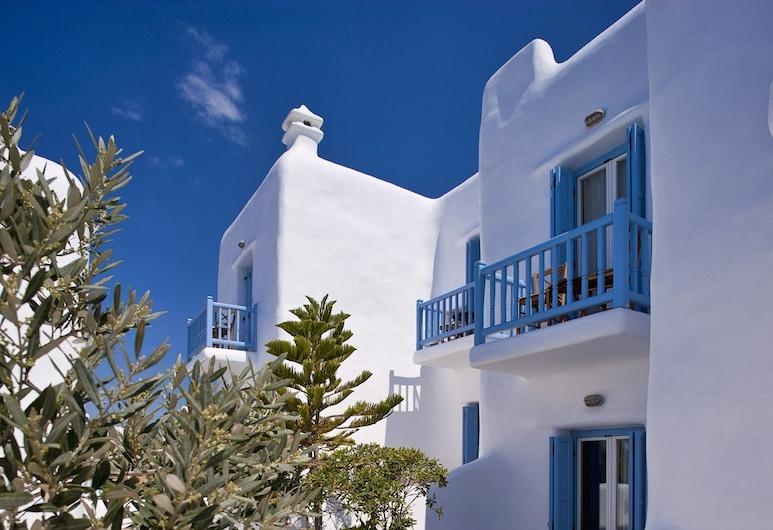 Harmony Boutique Hotel, Mykonos, Værelse - boblebad (Outdoor), Altan