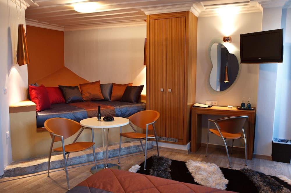 Habitación familiar, balcón - Sala de estar