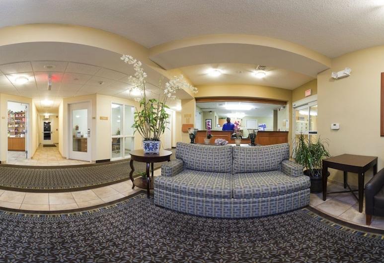 Candlewood Suites Greenville NC, גרינוויל, אזור ישיבה בלובי