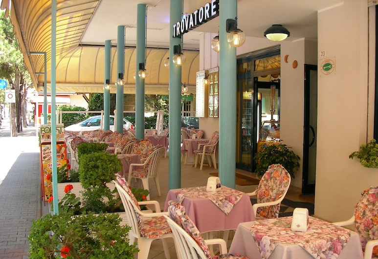 Hotel Trovatore, Jesolo, Terrass