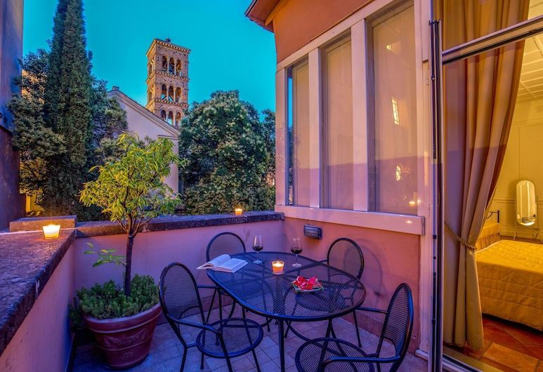 Aenea Superior Inn, Rome, Family Room, 1 Bedroom, Terrace, City View, Terrace/Patio