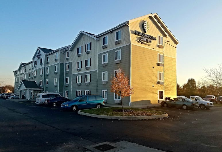 WoodSpring Suites Columbus Hilliard, Columbus, Exterior