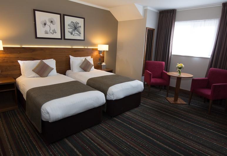 Best Western Palm Hotel, London, Standardzimmer, 2Einzelbetten, Nichtraucher, Zimmer