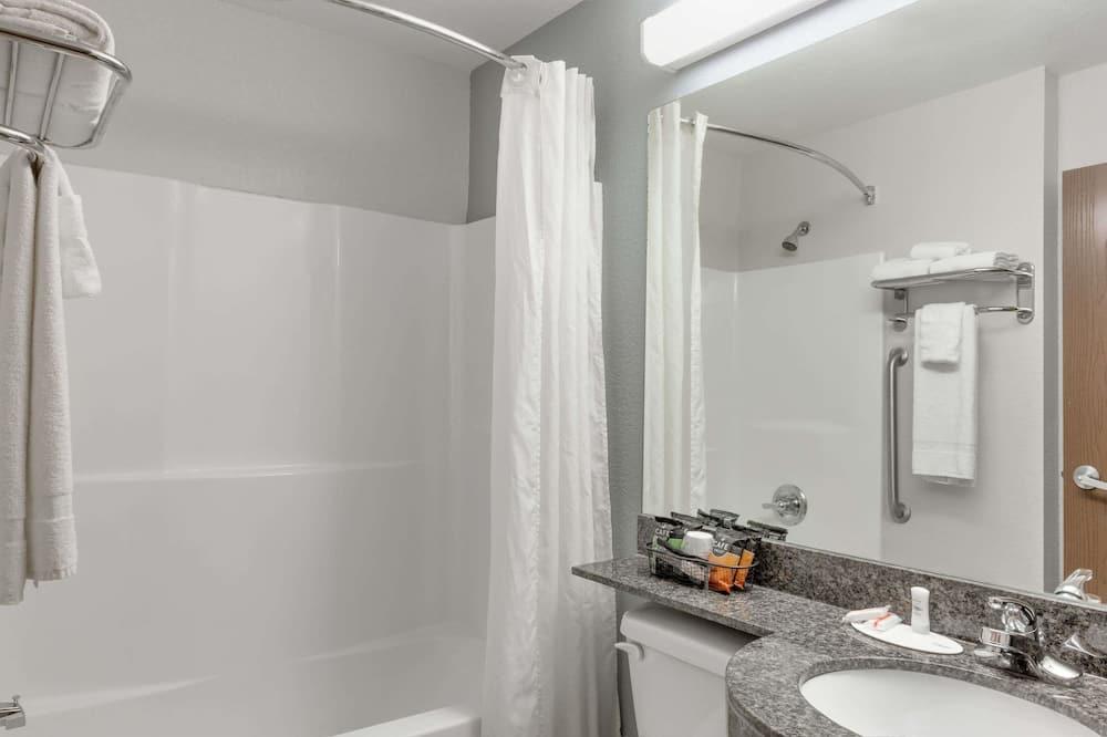 標準客房, 2 張加大雙人床, 無障礙 - 浴室