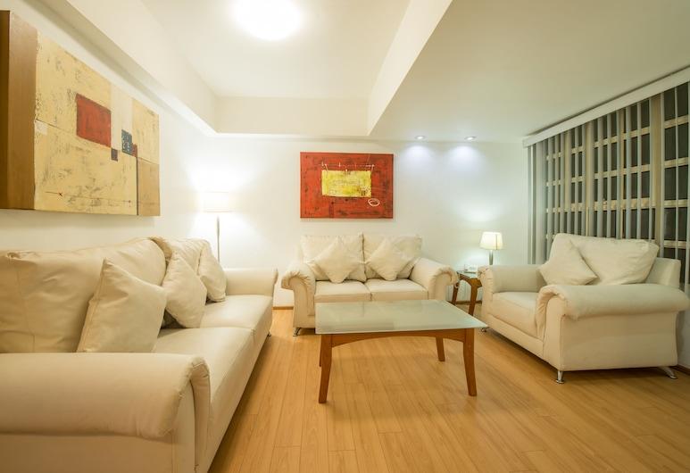 European Life Style Executive Suites & Gallery, Zapopan, Suite, 3 spavaće sobe, Dnevna soba