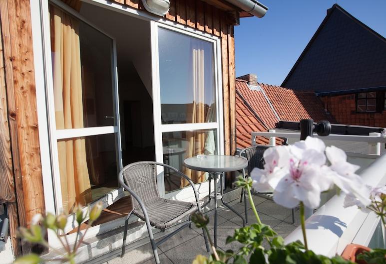 Ferienresidenz Schlossblick, Quedlinburg , Suite, Balkoni