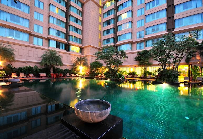 Grande Centre Point Hotel Ratchadamri, Μπανγκόκ, Αίθριο/βεράντα