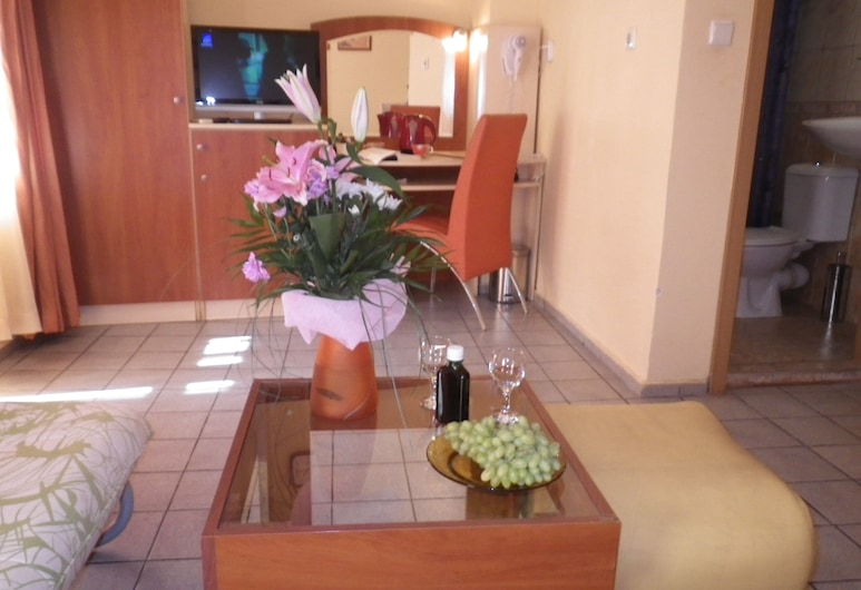 Palitra Family Hotel, Varna, Comfort Double Room, 1 Bedroom, Living Area