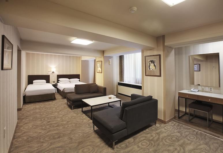沙威飯店, 首爾, 家庭套房, 客房景觀