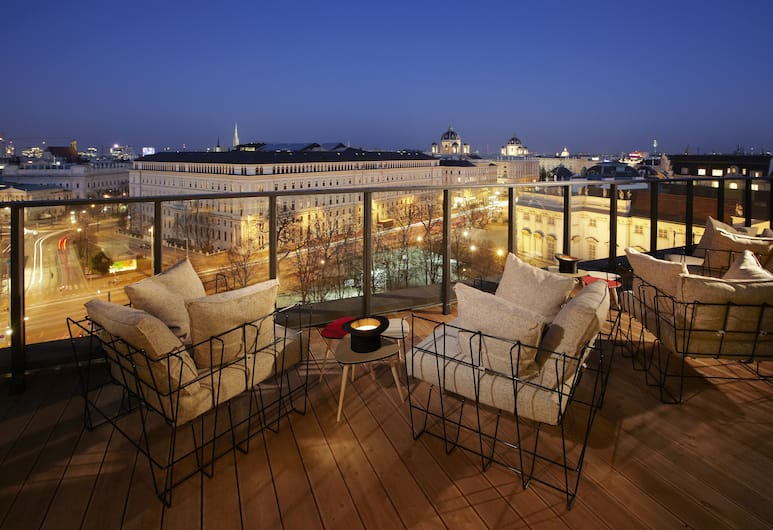25hours Hotel at MuseumsQuartier, Vienna, Aerial View
