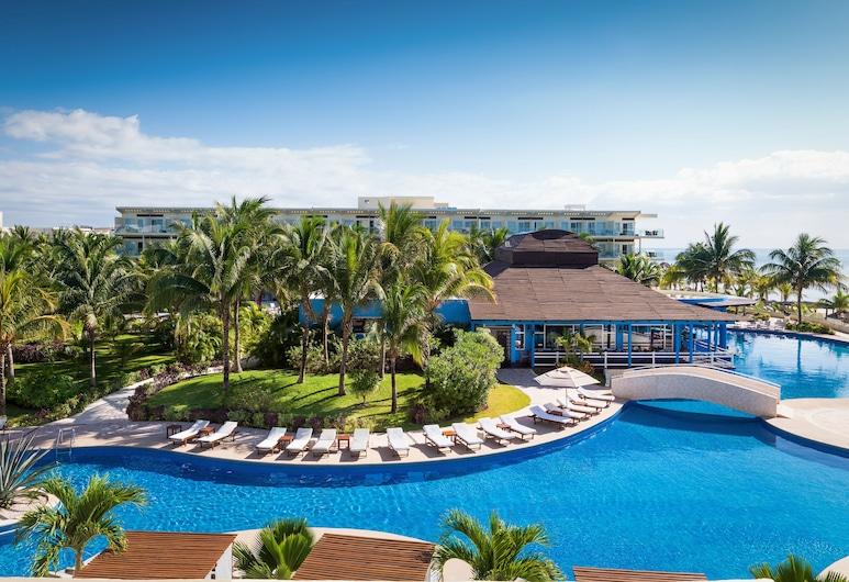 Azul Beach Resort Riviera Cancun, Gourmet All Inclusive by Karisma, Puerto Morelos, Suite familiar, Vista al resort