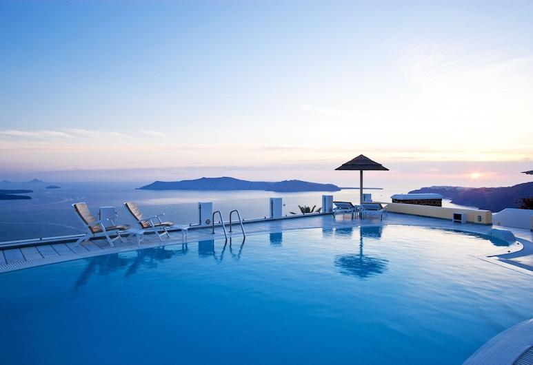 Santorini Princess Luxury Spa Hotel, Santorini, Utendørsbasseng