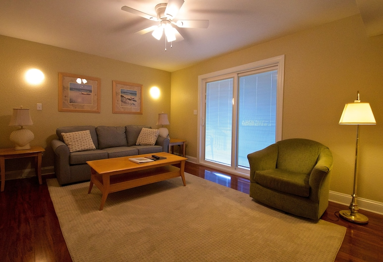 Summer Place, Bethany Beach, Townhome - 2 sovrum, Vardagsrum
