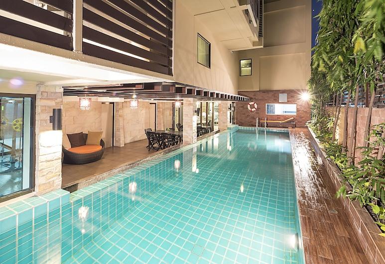 アスペン スイーツ ホテル スクンビット 2 バンコク バイ コンパス ホスピタリティ, バンコク, 屋外プール