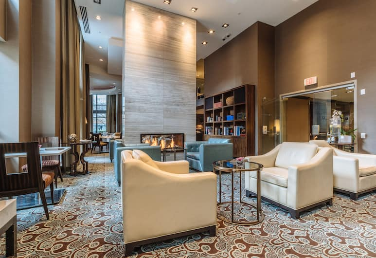 L'Hermitage Hotel, Vancouver, Lobby Lounge