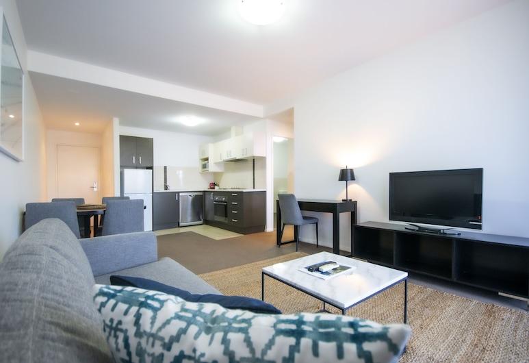 伍倫貢曼特拉酒店, 臥龍崗, 高級公寓, 1 間臥室, 露台, 客廳